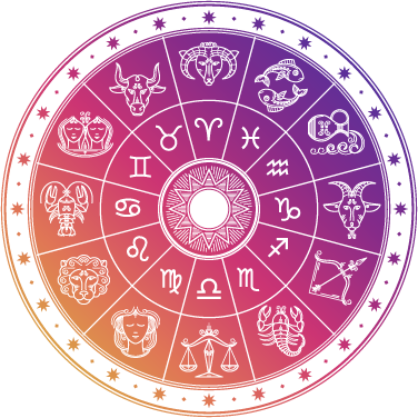 Horoscope wheel